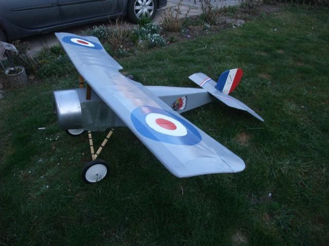 Bébé Nieuport 1/4 scale révision , peinture etc etc