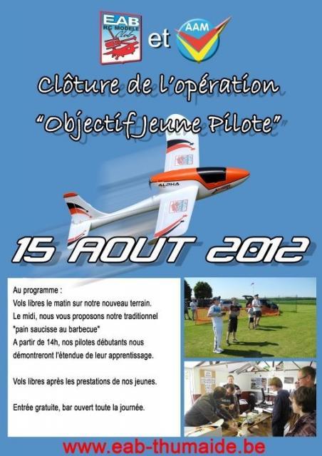 Journée Objectif Jeune Pilote à l'EAB Thumaide le 15 août