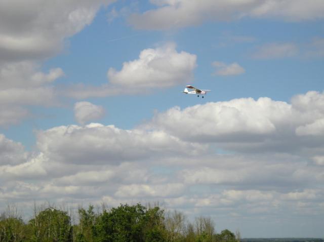 Le Biloute en vol...