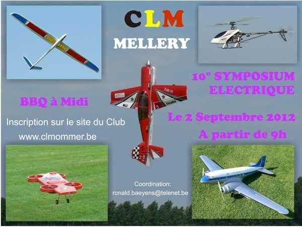 10° Symposium Electrique au CLM à Mellery le 2 Septembre 2012